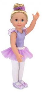 melissa doug alexa-14-ballerina doll