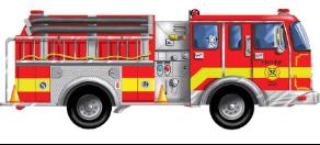 melissa doug giant fire truck