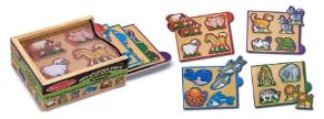 Animals Mini-Puzzle Pack