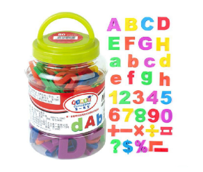 Letters & Numbers - Whiteboard Magnets For Kids