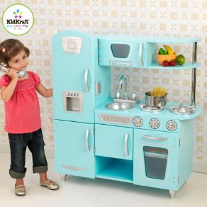 Blue Vintage Kidkraft Kitchen