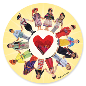 Circle Of Friends - Cardboard Jigsaw Puzzle